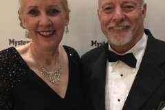 With Mary on the Edgars 2017 red carpet