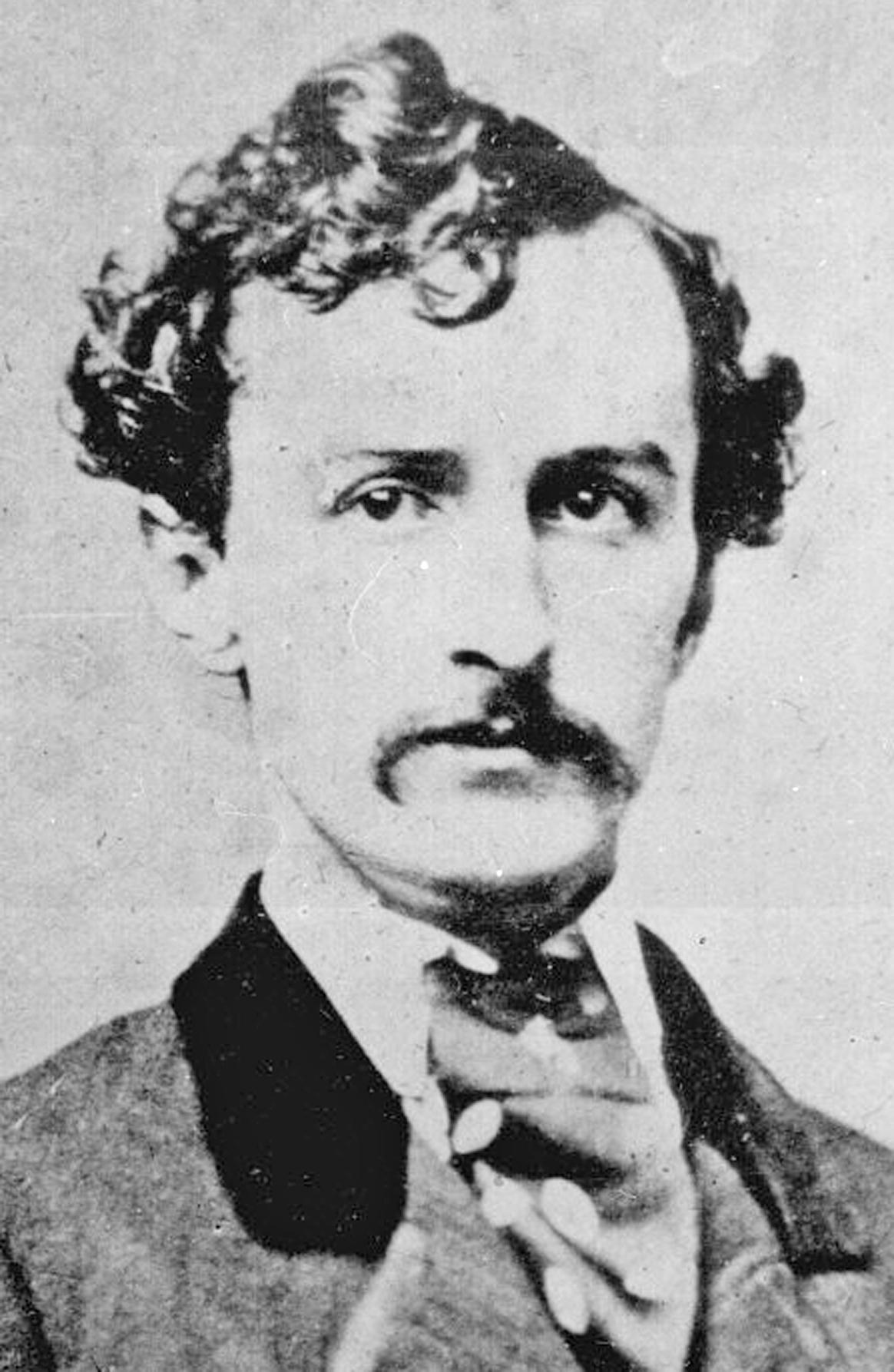 BOOTH, JOHN WILKES portrait