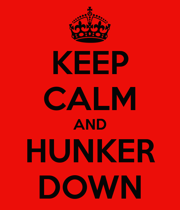 Image result for hunker down